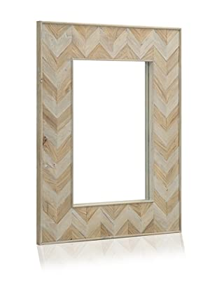 Shine by S.H.O. Parker Rectangular Mirror (Old Elm/Antique Grey)