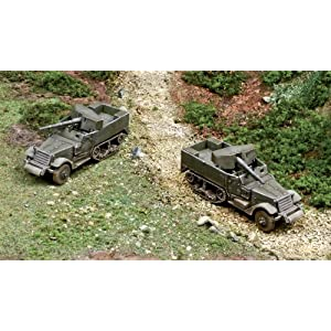 Italeri M3 75mm Half Track (Fast Assembly) Model Kit