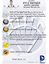 Heroclix DC War of Light #031b Kyle Rayner (White Lantern) Prime Figure Complete with Character Card