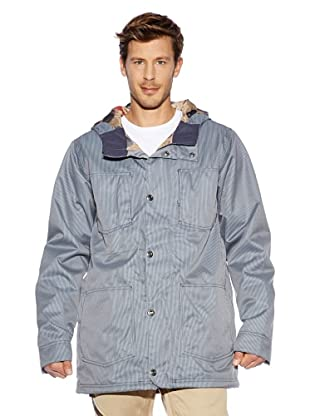Burton Jacke Ra Chestnut (quarry workwear stri)