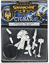 Privateer Press Warmachine: Cygnar Major Markus 'Siege' Brisbane Model Kit