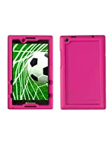 Bobj for Lenovo Tab 2 A8-50, A8-50F - BobjGear Protective Tablet Cover (Rockin' Raspberry)