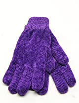 ISO by Isotoner Women's Chenille Thinsulated Gloves Purple One Size