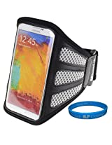 SumacLife Grey Workout Gym Armband Pouch Case