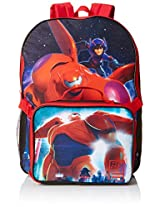 Disney Boys' Big Hero 6 Backpack with Lunch Kit