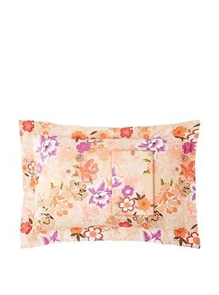 Twinkle Living Pair of Shanghai Pillow Shams, Apricot, Standard