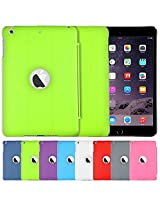 AirPlus AirCase Smart Hardback Protection with Apple Cutout for iPad Mini3 [FLORESCENT GREEN]