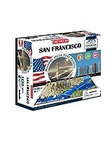 4D Cityscape San Francisco USA Puzzle Color: San Francisco, Lark, Amuse, Trifle, Twiddle