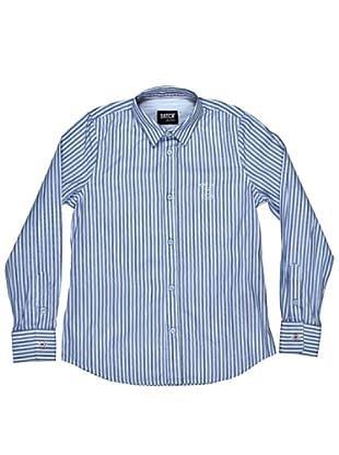 Datch Dudes Camisa Pike (Blanco/Azul)