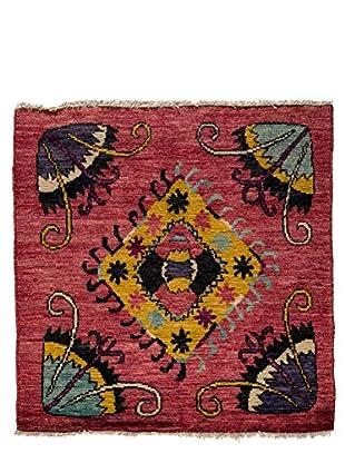 Darya Rugs Kaitag Oriental Rug, Red, 4' 2