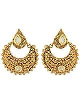 Nakshatra Collection Golden Copper Dangle & Drop Earring For Women