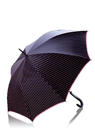 Antonio Miró Paraguas Alanis negro/rosa