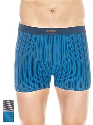 Ocean Pack x 2 Boxers Cerrado (Turquesa / Melange)