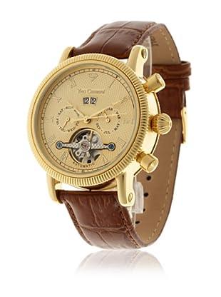 Yves Camani Reloj Nautilus Marrón