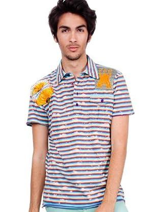 Custo Poloshirt Pollock (Mehrfarbig)
