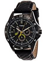 Timex Sports Analog Black Dial Mens Watch-T2N520