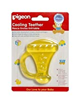 Pigeon Cooling Teether- Trumpet (Yellow)