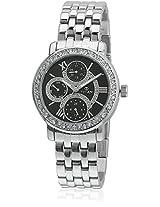Ne9743Sm02J Silver/Black Analog Watch