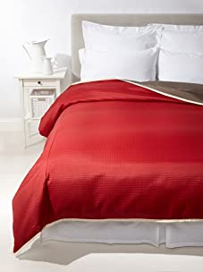 Mystic Valley Traders Café Cherry Duvet Cover (Red/Brown)