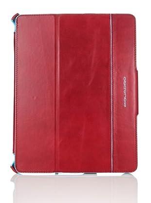 Piquadro Case Blue Square iPad
