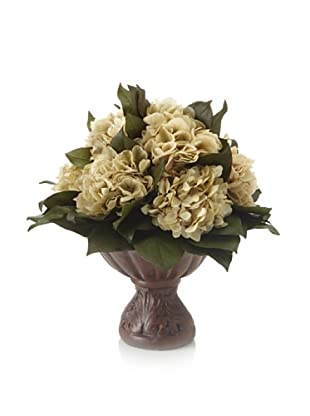 Forever Green Art Natural Hydrangea Vase