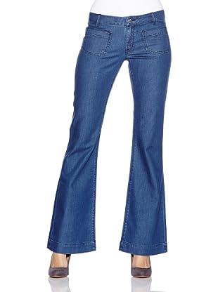 Seven LA Pantalón Katie (Azul Medio)