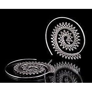 The Desi Soul Gypsy Spiral Earrings