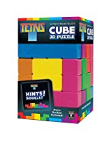 Tetris Brainteaser Cube 16 Piece 3 D Puzzle With Over 64 Possible Solutions