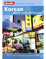 Berlitz: Korean Phrase Book & Dictionary (Berlitz Phrasebooks)