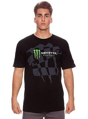 Monster Energy Camiseta Dazed (Negro)