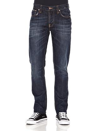 Nudie Jeans Pantalón Grim Tim (Azul oscuro)