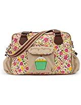 Pink Lining Yummy Mummy Cottage Garden Bag, Multicoloured