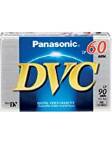 Panasonic AY-DVM60EJ MiniDV Cassette (60 Minutes)