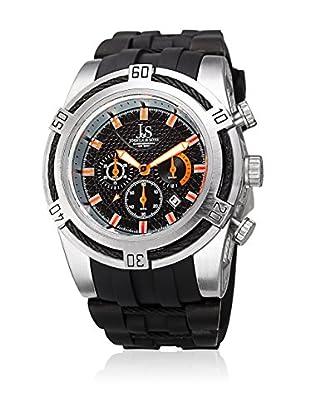 Joshua & Sons Reloj de cuarzo Man JX125SSBK 51 mm