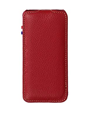 Decoded Bags Men's Flip Case for iPhone 5, Red