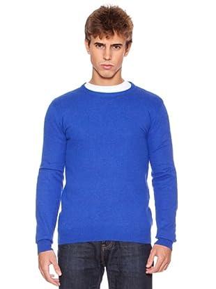Rexton Jersey Print Trasero Con Coderas (Azul)