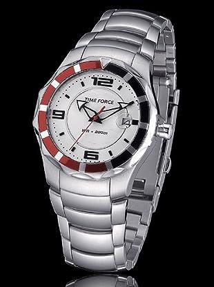 Time Force TF2956L02M - Reloj Señora quarzo blanco / rojo