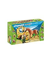 PLAYMOBIL Work Horse with Stall Play Set