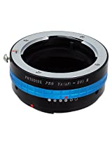 Fotodiox Pro Lens Mount Adapter, Yashica 230 AF Lens to Canon EOS M (EF-m) Mount Mirrorless Camera Adapter with Lens Aperture Control Dial