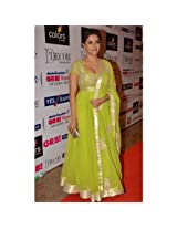 Asin Great 8 Women Awards Anarkali Suit - TBBWDF-24