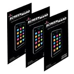 Screenward (Pack of 3) Clear Screen Protector Scratch Guard For ZTE Grand S2