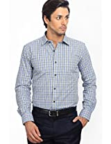 Checks Multi Color Formal Shirt
