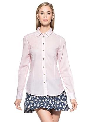 Timeout Camisa Lisa (Rosa Claro)