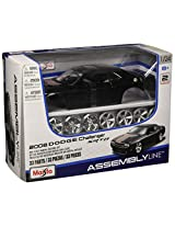 Maisto 1:24 Scale Assembly Line 2008 Dodge Challenger SRT8 Diecast Model Kit (Colors May Vary)
