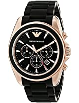 Emporio Armani Analog Black Dial Men's Watch - AR6066