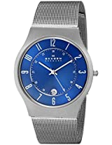 Skagen Analog Blue Dial Men's Watch - 233XLTTN