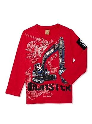 Monster Republic Boy's Japan Monster Truck Tee (Red)