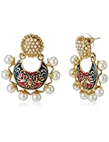 Ava Traditional Drop Earrings for Women (Multicolour) (E-VS-1837)