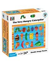 Eric Carle Very Hungry Orange Double Image Puzzle