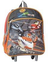 Disney Little Boys' Planes 12-Inch Mini Rolling Backpack